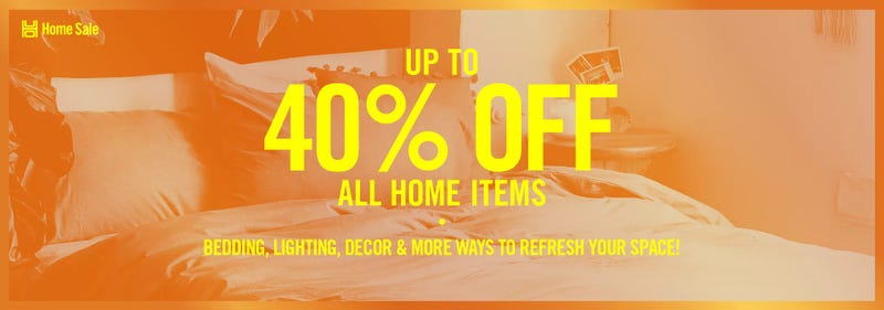 Up to 40% off all home items | Urban Outfitters