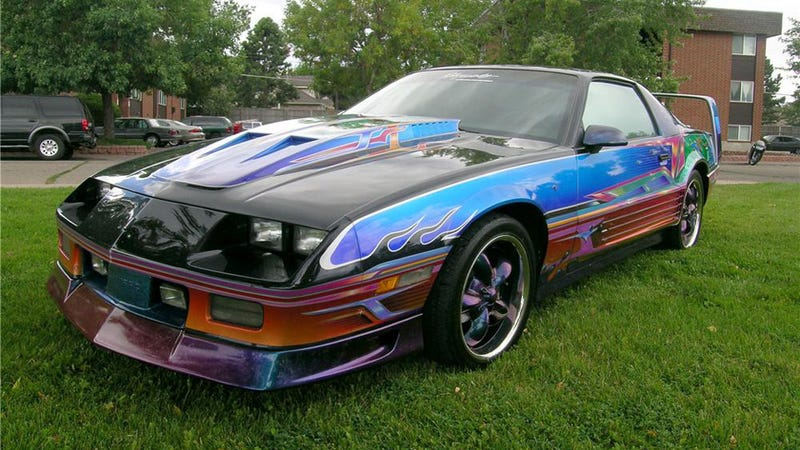 One Of The Worst Custom Camaros We Ve Ever Seen Crosses The Auction