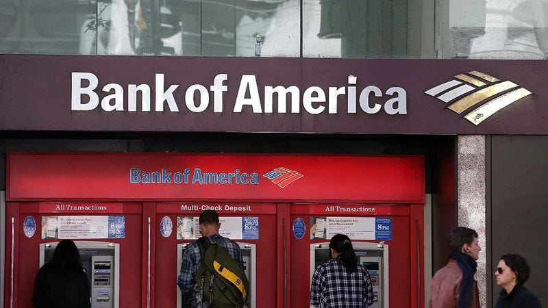 Illustration for article titled Bank Of America Introduces New $50 Underdraft Fee