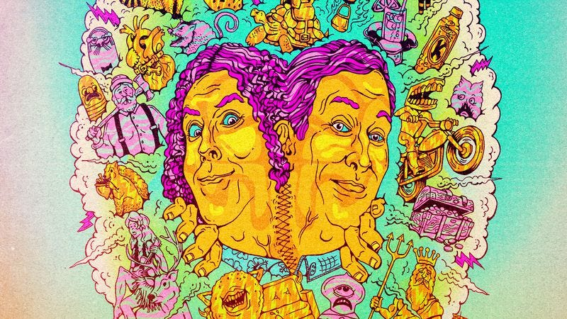 Illustration for article titled Say farewell to Comedy Bang! Bang! with exclusive art for its final episodes