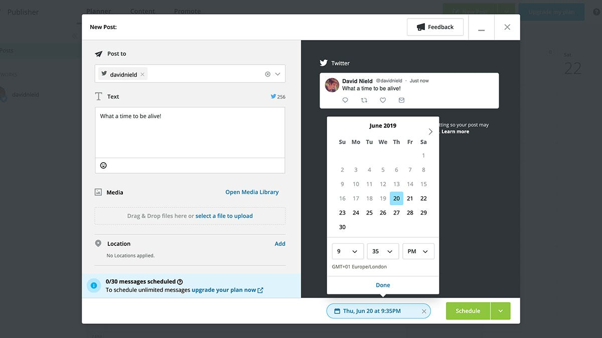 How to Schedule Your Messages, Emails, and Tweets to Go at