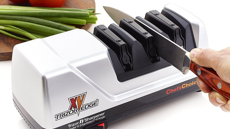 give your kitchen knives new with this professional sharpener