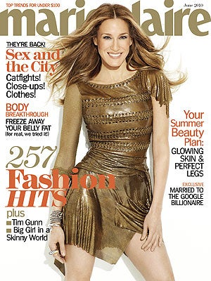 """Illustration for article titled SJP Says Carrie Makes Her """"Bolder""""; Louboutin Realizes His Shoes Are Uncomfortable"""