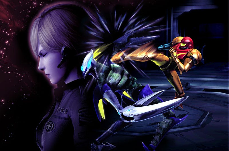 Illustration for article titled New Metroid: Other M Screens, Story Details, Excitement