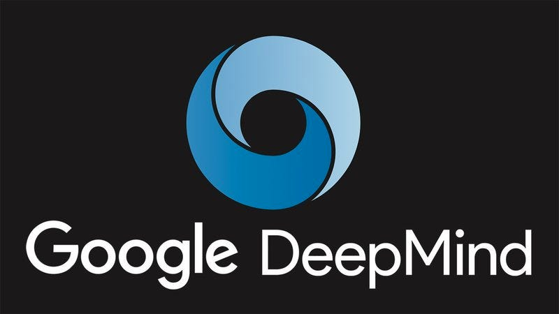 The Google DeepMind logo.