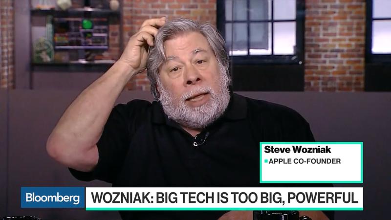 Illustration for article titled Steve Wozniak Says Big Tech Companies Like Apple Should Be Broken Up