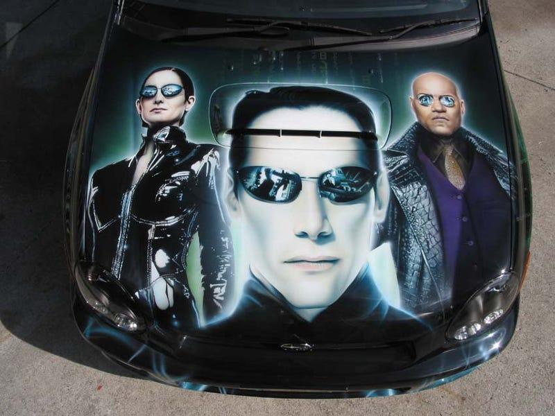 Illustration for article titled It's the Subaru Matrix... whoa!