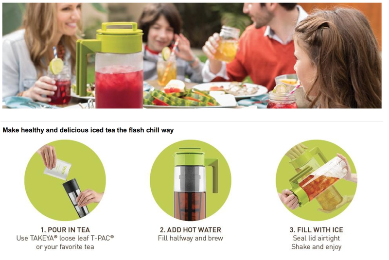 20% off Takeya Flash Chill Tea Makers