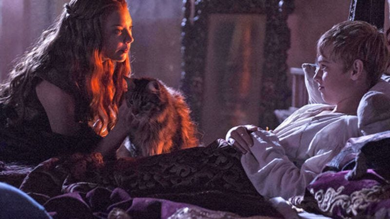 Illustration for article titled Ser Pounce was quite the diva on the Game Of Thrones set, apparently