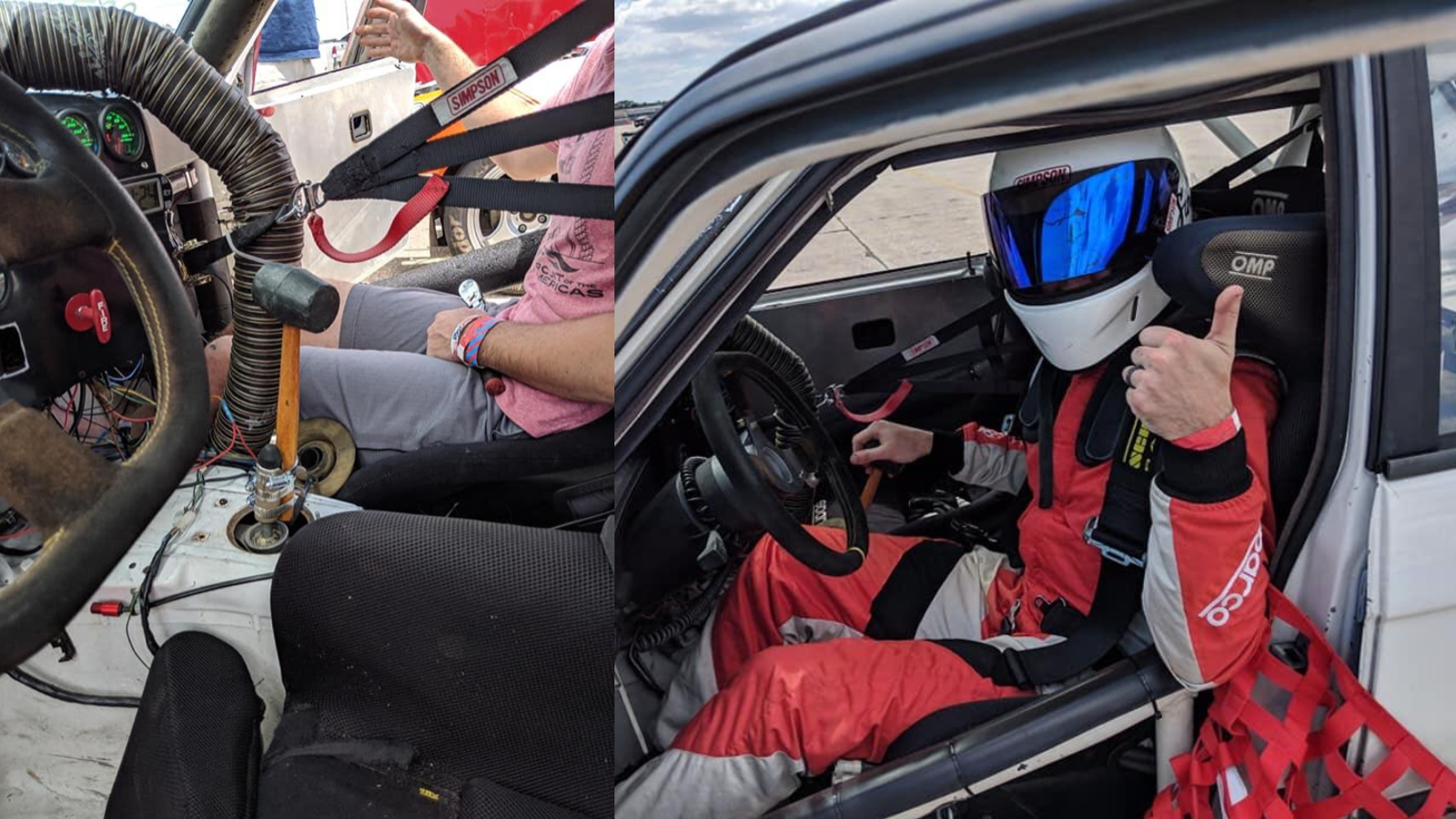 QnA VBage Spec BMW E30 Racer Replaces Broken Shifter With a Rubber Mallet, Wins