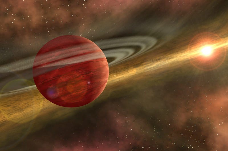 Illustration for article titled Un nuevo planeta gigante cuestiona las teorías de formación planetaria