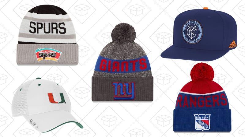 40% off Select Headwear Styles