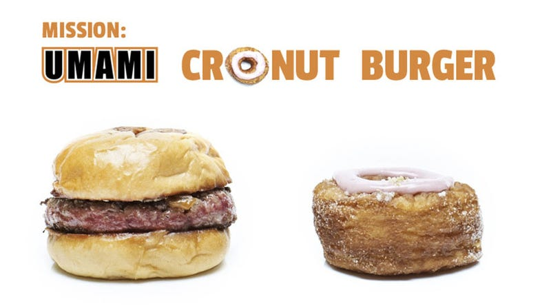 Illustration for article titled The Cronut Umami Burger Is a Culinary Match Conceived in Hell