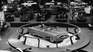 Illustration for article titled See A Rare Concept Car On The Auto Show Floor In 1954