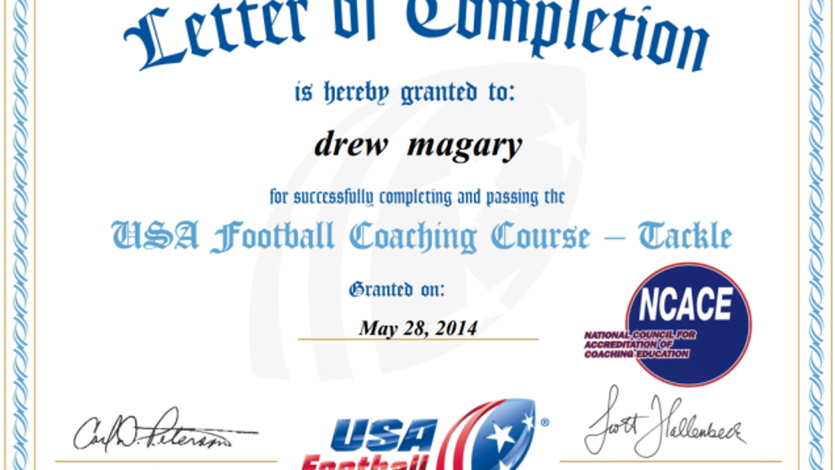 I got certified to coach heads up football and it was a joke 1betcityfo Gallery