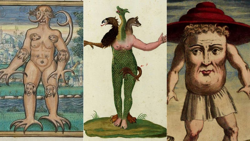 Illustration for article titled The Most Grotesque Humanoid Monsters of the Early Modern Age