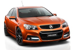Illustration for article titled 2014 VF Commodore SS V Show Car Unveiled