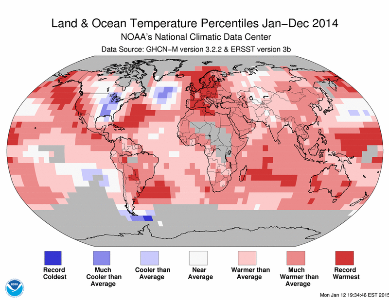 Illustration for article titled Yep, 2014 Was The Hottest Year In Recorded History