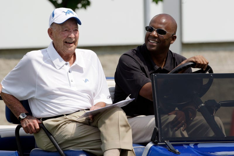 Illustration for article titled Detroit Lions Owner William Clay Ford, Sr. Is Dead