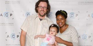 Photographer Michael David Murphy; his wife, Alyson; and their daughter (michaeldavidmurphy.com)