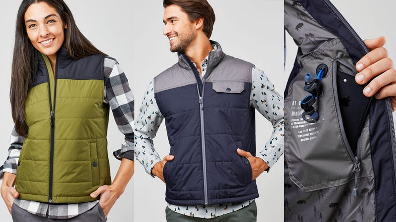 Bison Puffer Vest, Men's and Women's | $100 | United By Blue