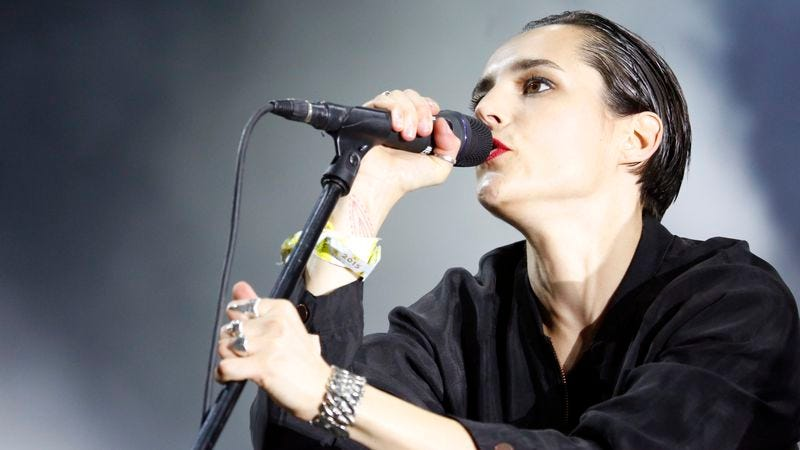 Savages singer Jehnny Beth at FYF Fest this August. (Photo: Getty Images)
