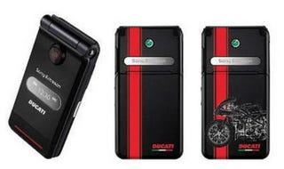 Illustration for article titled Sony Ericsson Teams With Ducati For Cell Phone, Rich Dudes In Loveless Marriages Rejoice!