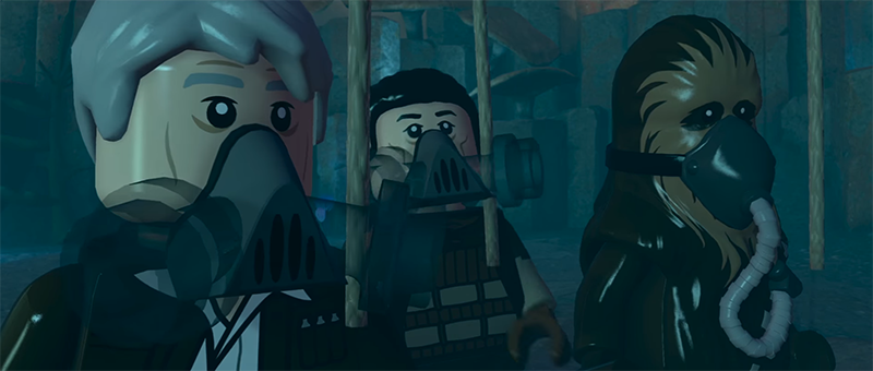 Illustration for article titled Star Wars: The Force Awakens LEGO Game Shows Us What Happened Before The Movie