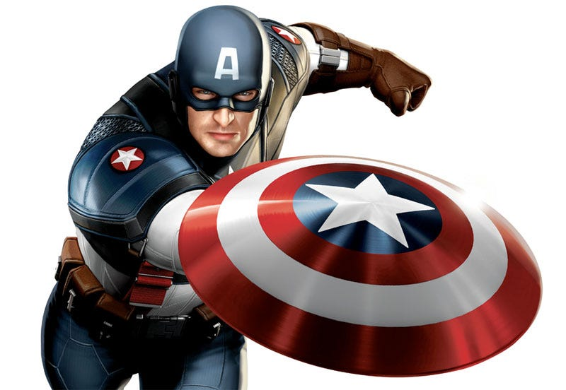 Illustration for article titled First Look At The Captain America Coming To Theaters, Consoles Near You