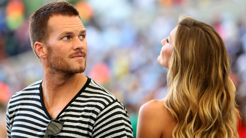 Illustration for article titled Sportsman Tom Brady Insists That He and Gisele Are In It to Win It