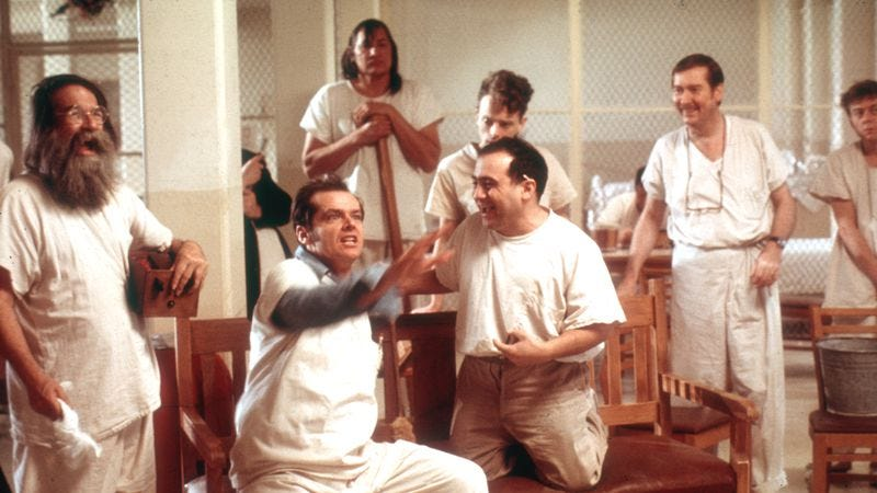 "an analysis of hero characters from one flew over the cuckoos nest by ken kesey Hero in one flew over the cuckoo's nest by ken kesey randle patrick mcmurphy, the main character in ""one flew over the cuckoo's nest"", is the perfect example of a hero."