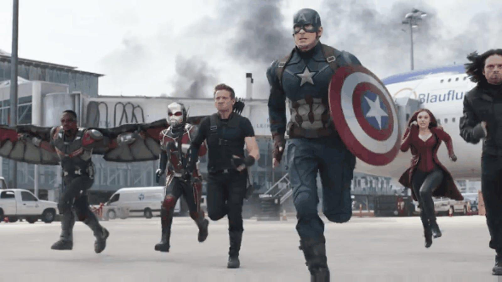 Spider-Man se une a la batalla en el nuevo tráiler de Captain America: Civil War