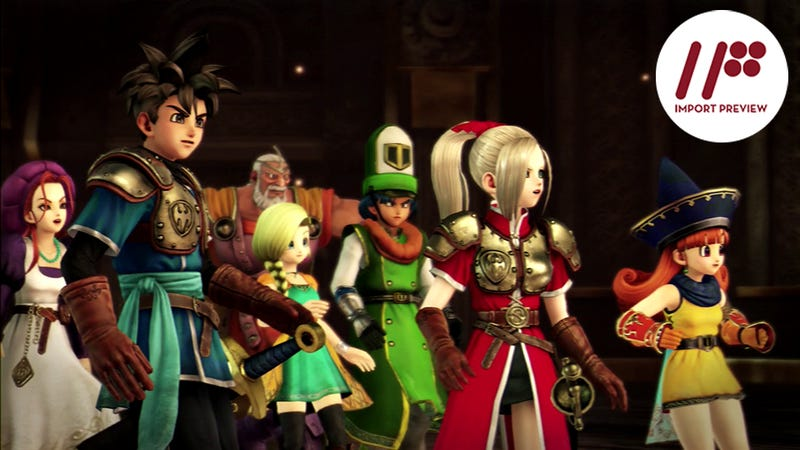 Illustration for article titled Dragon Quest Heroes is a Solid Crossover Game
