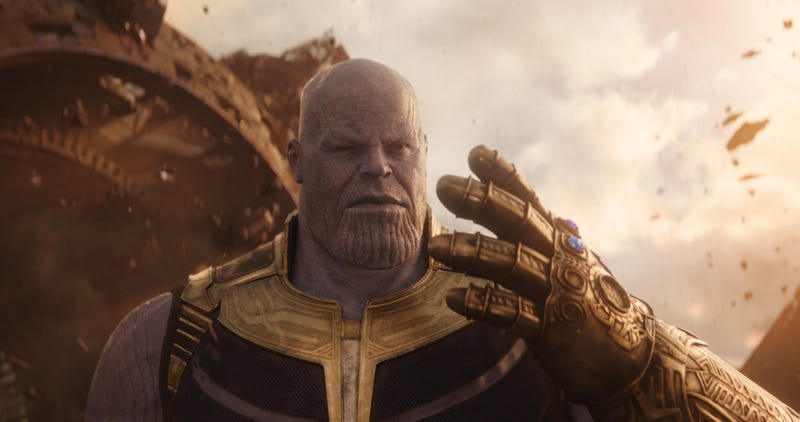 Illustration for article titled Josh Brolin suggests Thanos' genocide fetish is just a product of a lousy upbringing
