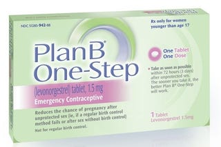Illustration for article titled Plan B to be Available Over-the-Counter to Minors
