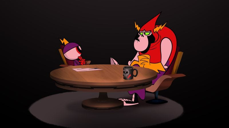 Illustration for article titled Wander Over Yonder steals Andy Daly, makes animated episode of Review, is excellent