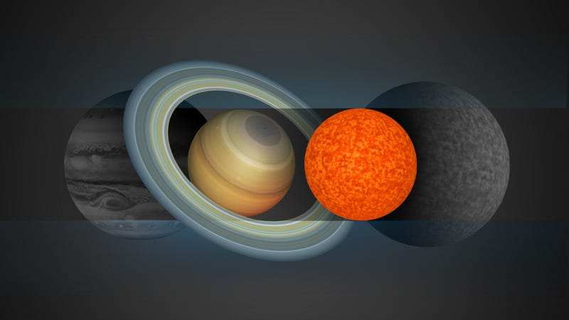 The small star (artist's depiction shown in reddish orange) is about the size of Jupiter, and slightly smaller than the ultracool dwarf Trappist-1 (shown in grey). (Image: A Boetticher et al., 2017)