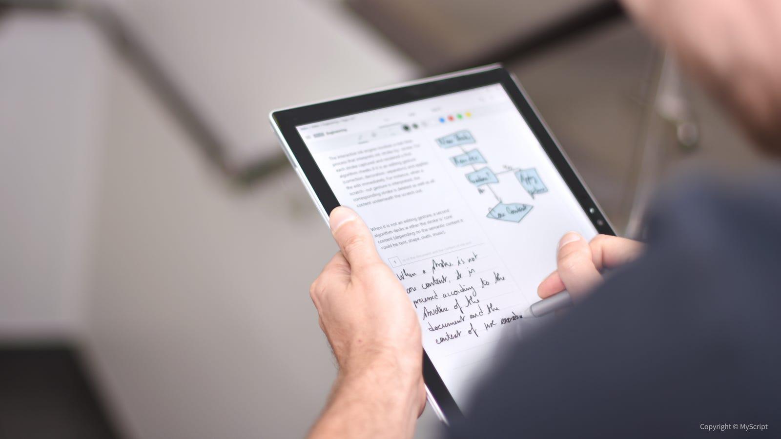 ipad pro app handwriting to text