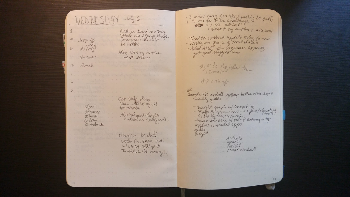 The Bullet Journal Minus The Hype Is Actually A Really Good Planner