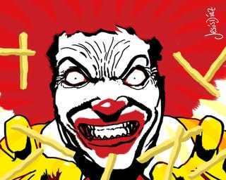 Illustration for article titled As if McDonald's Wasn't Dirty Enough, They're Now Spraying DNA On Criminals