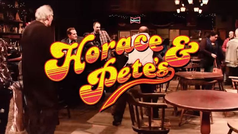 "Illustration for article titled Louis CK's Horace And Pete gets a Cheers-style ""Must See TV"" makeover"