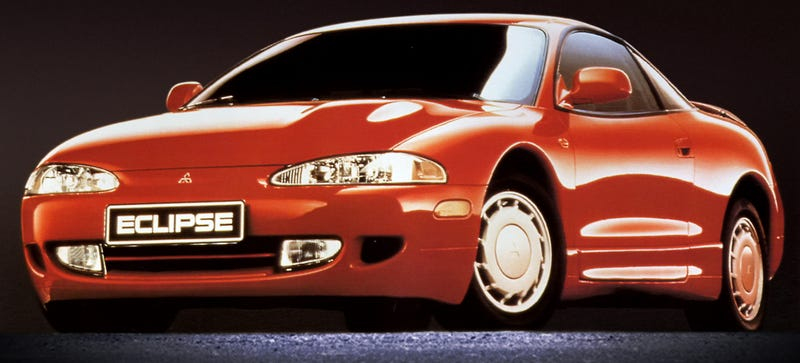 Illustration for article titled Here Are Some Pictures Of The Mitsubishi Eclipse Before The World Turned Into A Horrorscape Of Misery