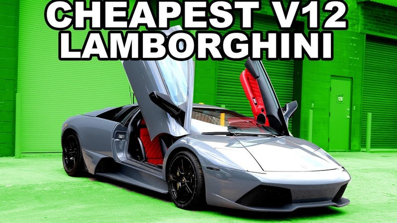 here's why you need to buy a cheap lamborghini murcielago right now