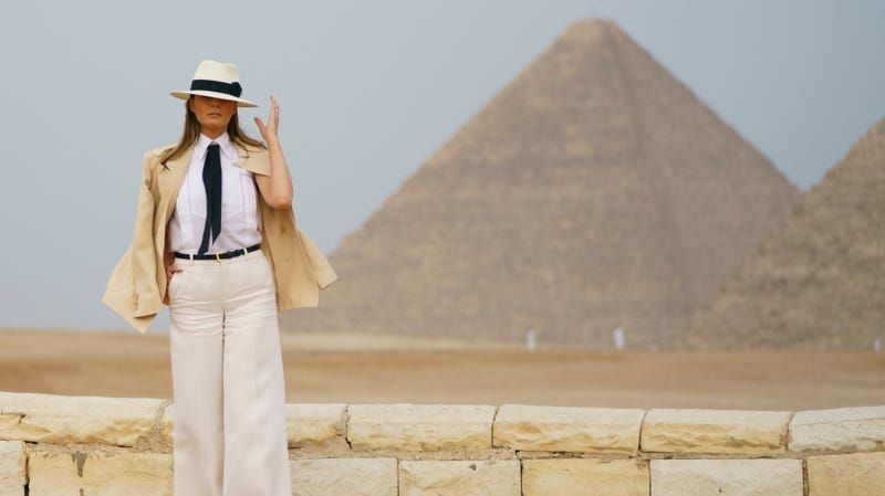 Illustration for article titled Melania Trump Racked Up a $95,000 Hotel Bill for 6 Whole Hours in Cairo