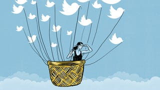 Illustration for article titled Would a Woman Ever Track Down a Lost Crush on Twitter? Probably Not.