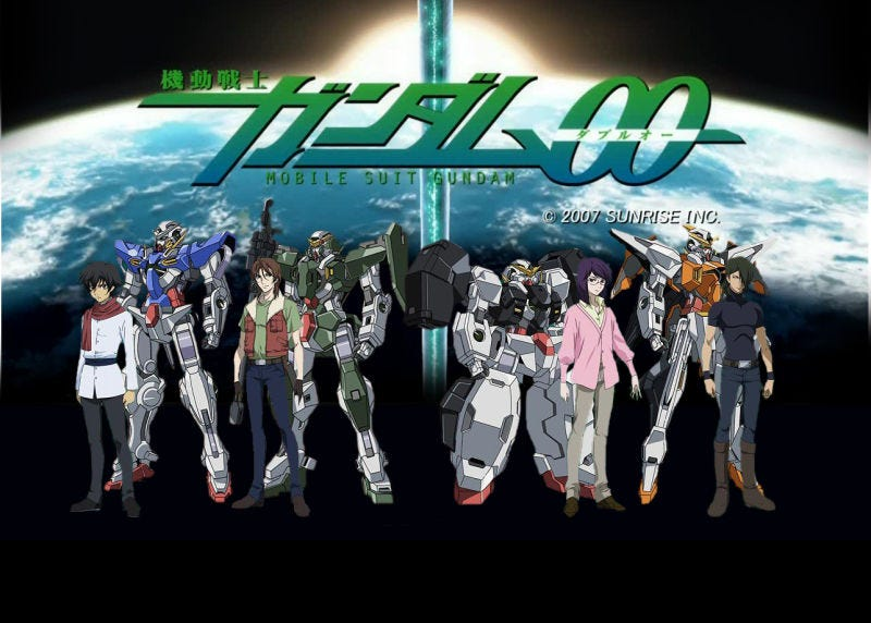 Illustration for article titled Rating the Mobile Suit Gundam 00 Opening Themes