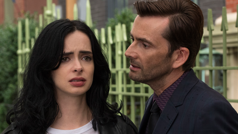 Jessica Jones (Kristen Ritter) is confronted by the ghost(s) of her past.