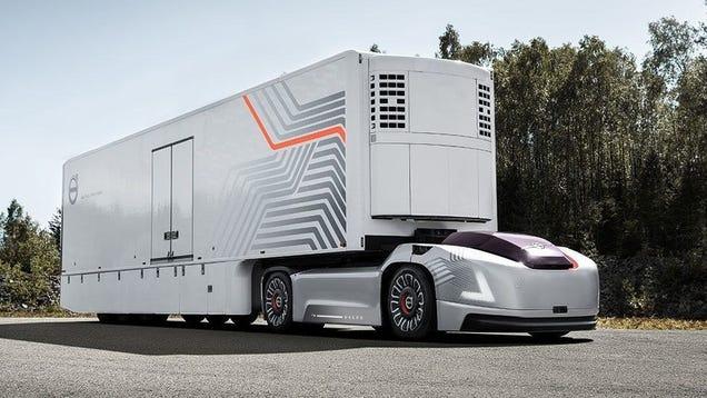 Volvo's Latest Autonomous Truck Concept Is Just Motors