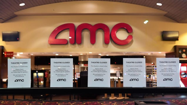 AMC Says Its Cash Might Run Out by the End of the Year