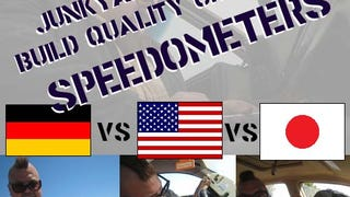 Junkyard Build Quality Challenge, Speedometer Edition: USA vs Germany vs Japan!